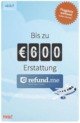 refundme widget