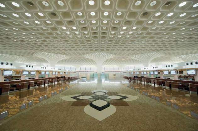 Le terminal 2 de l'aéroport de Mumbai