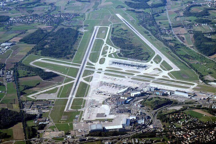 Flugausfälle Flughafen-Zürich