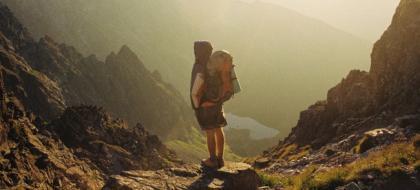 Backpacker Traveling
